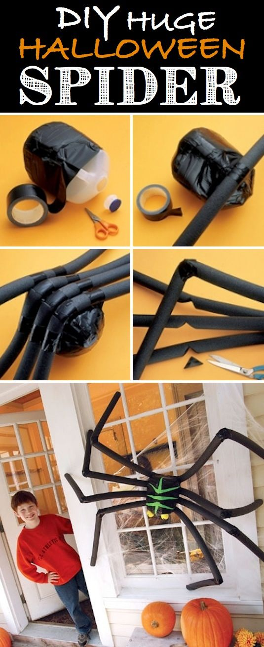 16-Easy-But-Awesome-Homemade-Halloween-Decorations-black-spider